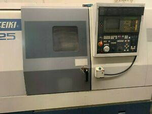 Mori Seiki Sl25 Cnc Lathe 10 Chuck Good Condition Under Power