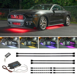 Ledglow Wireless 10pc Million Color Led Underbody Lighting Kit W Interior Lights