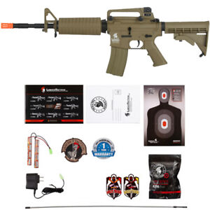 Lancer Tactical G2 M4A1 LT 06T Carbine Airsoft AEG Rifle DARK EARTH $139.00