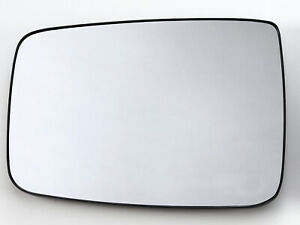 For Dodge Ram 2010 2019 Manual Mirror Glass Left Driver Side W Backing Plate