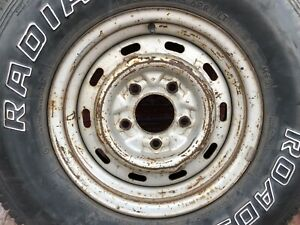 15 Inch Ford F150 Pickup Bronco 1980 1990 1991oem Factory Steel Wheel Rim 1160
