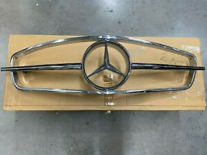 Genuine Oem Mercedes Benz W121 Chassis 190sl Front Grill Complete