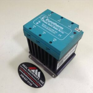 Eurotherm Controls 3 Phase Solid State Relay Rs3da 30a 660v ldc Used 82788