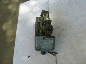 Vintage 1930s 1940s Electric Windshield Wiper Motor Assembly