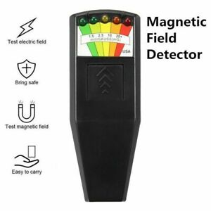 Led Emf Meter Magnetic Field Detector Ghost Hunting Detector Equipment Tool Us