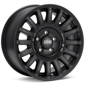 O z Racing Rally Raid 17x8 5x114 3 Et40 Black 4 Wheels