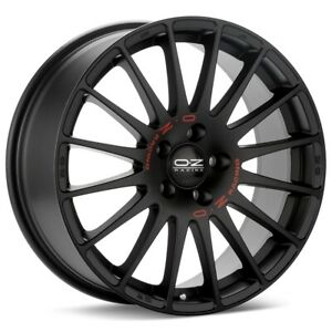 O z Racing Superturismo Gt 17x7 5 5x114 3 Et50 Black 4 Wheels