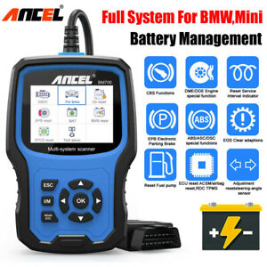 For Bmw Obd2 Diagnostic Scanner Oil Epb Abs Airbag Tpms Battery Management Tool