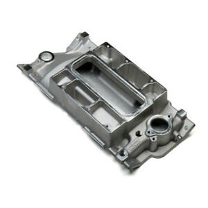 Weiand Intake Manifold 6150win 177 Satin For Chevy 262 400 Sbc