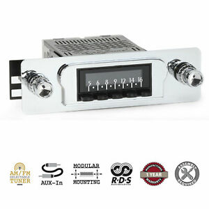 Retrosound 1960 63 Ford Falcon Laguna Radio Am Fm Aux Retroradio Stereo