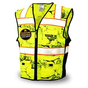 Kwiksafety Uncle Willy s Wall High Vis Reflective Ansi Class 2 Safety Vest