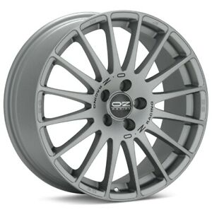 O z Racing Superturismo Gt 17x7 5 5x100 Et48 Matte Grey 4 Wheels