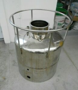 Alloy Products Corp 316l Stainless Steel 35 Liter Pressure Vessel