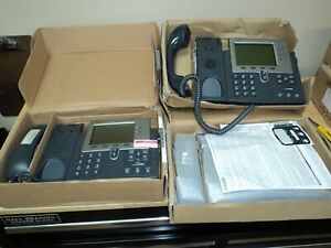 Cisco Ip Phones 1 7941 And 2 7962 1 New 2 Used
