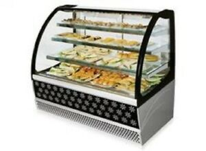 Isa Metro 93 Pastry Display Case Grab And Go And Closed Refrigerated