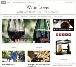 Wine Lover s Turnkey Website Business For Sale W Daily Auto Content Updates