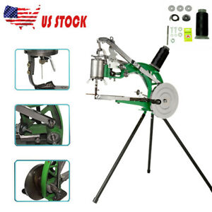 Shoe Repair Sewing Machine Hand Cobbler Dual Leather Cloth Cotton Nylon Line