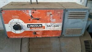 Lincoln Saf600 Inner Shield Submerged Arch Used