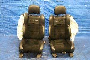 2018 Jeep Grand Cherokee Trackhawk 6 2l Oem Lh Rh Front Seats damage 1228