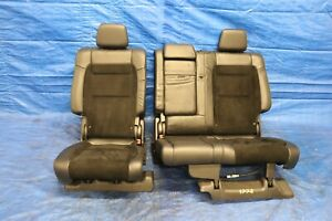 2018 Jeep Grand Cherokee Trackhawk 6 2l Oem Leather suede Rear Seat wear 1228