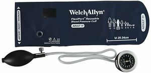Welch Allyn Ds45 11 Gauge With Durable One Piece Adult Cuff