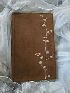 Urban Outfitters Suede Journal With Pink Detailing New With Tag