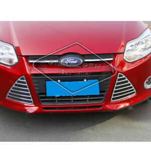 Fit Ford Focus 2012 2013 2014 Front Bumper Abs Grille Grill Mesh Replacement