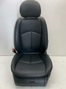 2007 2009 Mercedes W211 E350 Front Left Driver Heated Seat Leather Black Oem