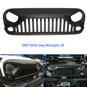 Front Bumper Grille Grill Angry Bird For 2007 2018 Jeep Wrangler Jk