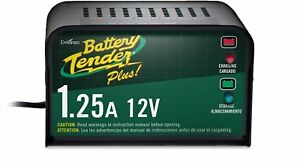 Battery Tender Plus 021 0128 1 25 Amp Smart Battery Charger And Maintenance