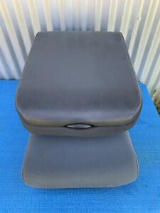 09 18 Dodge Ram 1500 2500 3500 Center Jump Seat Console Arm Rest Black gray