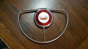 1950 Ford Horn Ring Nice With New Button