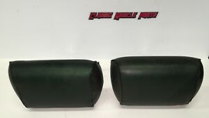 68 69 70 71 72 Chevelle Lemans Skylark Dark Green Bench Seat Headrests