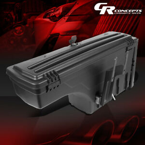 Left Driver Side Truck Bed Wheel Well Storage Tool Box For 2015 2020 Ford F 150