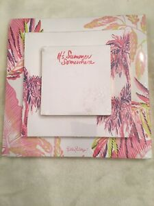 New sealed Lilly Pulitzer It s Summer Somewhere Off The Grid Notepad Set 3 Pads