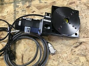 Parker Daedal Rotary Stage Table 5 20505rt ep h2c4m1e1 Used