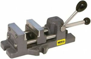 Heinrich Quick Release Horizontal Drill Press Vise 6 3 16 Jaw Opening