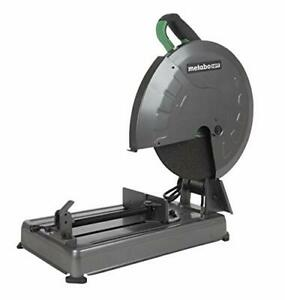 Metabo Hpt Metal Chop Saw 14 Cut off Wheel Portable And metabo Hpt Cc14sfs
