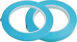 Intertape Fm35 1 4 Med high Temp Masking Tape Lite blue 14 Rolls 1 Sleeve