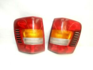 Jeep Grand Cherokee Wj 99 04 Driver Passenger Tail Light Lamp Pair Rh Lh