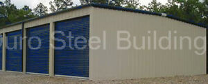 Duro Mini 40x60x8 5 Metal Prefab Storage Kit Made To Order Steel Building Direct