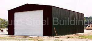 Durobeam Steel 28x36x16 Metal Prefab Garage Kit Storage Building Workshop Direct
