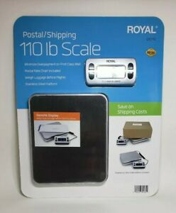 Royal Shipping postal kitchen Scale 110lb 50kg Capacity Dg110 Food freight