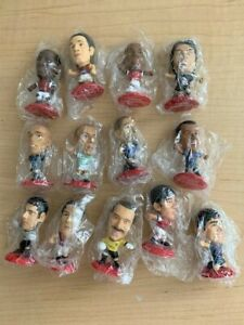 13 Coca-Cola FIFA World Cup 2002 Corinthian Miniature Figures New in Sealed Bags