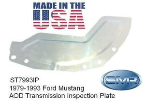 Ford Mustang Transmission Bellhousing Aod Inspection Plate New Usa