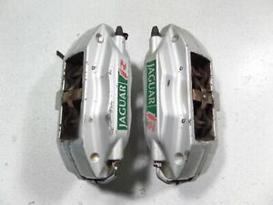 03 05 Jaguar S Type R Brembo Rear Brake Calipers Tested Left Right 4pot Xjr Oem