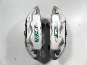 03 05 Jaguar S Type R Brembo Front Brake Calipers Tested Left Right 4pot Xjr Str