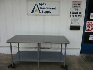 Stainless Table 30 x72 x35 Good Shape 5040