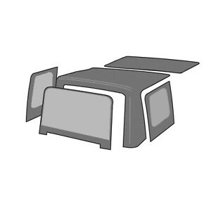 Rampage 98752 Factory Replacement Soft Top Fits 89 94 Sidekick Tracker