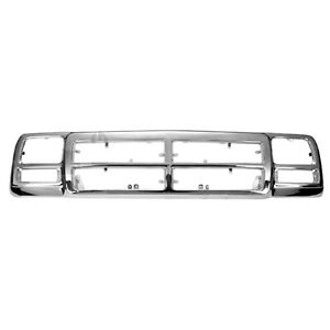 New Replacement Grille Shell Chrome